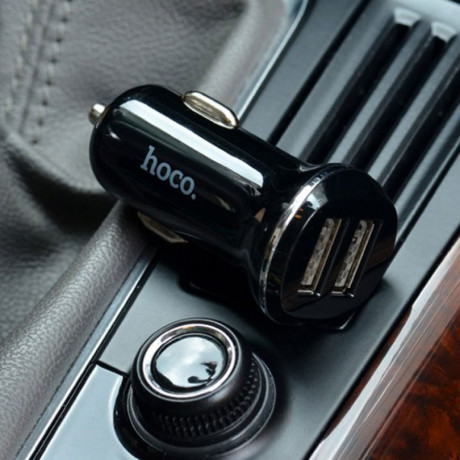 Автомобильное ЗУ Hoco Z1 + кабель micro USB