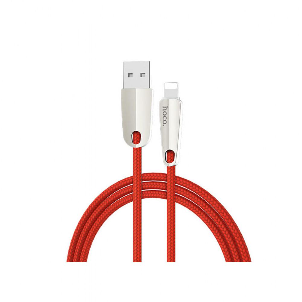 Кабель USB - Apple 8 pin HOCO U35 Space shuttle, 1.2м