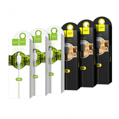 Кабель USB -  microUSB HOCO X20 Flash 3.0м