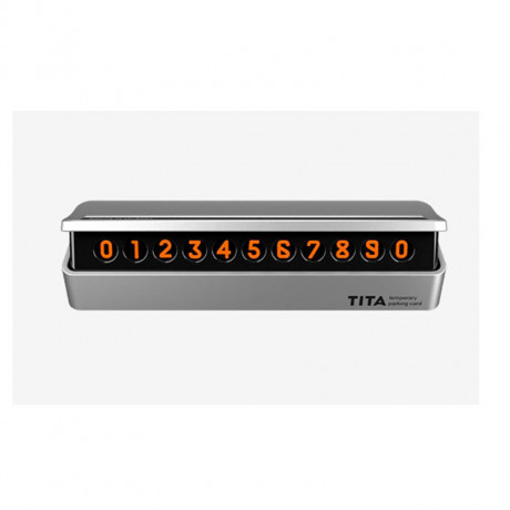 Временная карта парковки BCASE TITA Temporary Parking Card