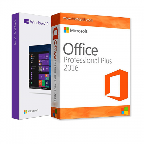 Электронные лицензии Windows 10 Pro + Office 2016 Professional Plus 32 / 64 Bit