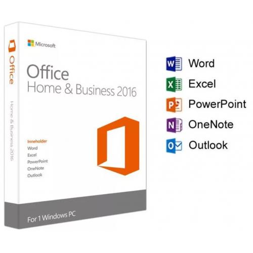 Office 2016 Home and Business для Windows (для дома и бизнеса)