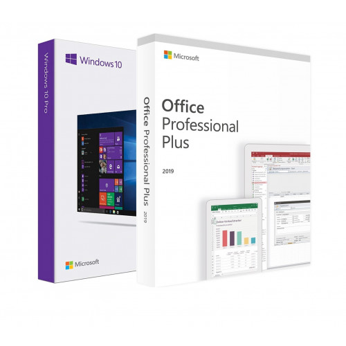 Электронные лицензии Windows 10 Pro ESD + Office 2019 Professional Plus 32 / 64 Bit