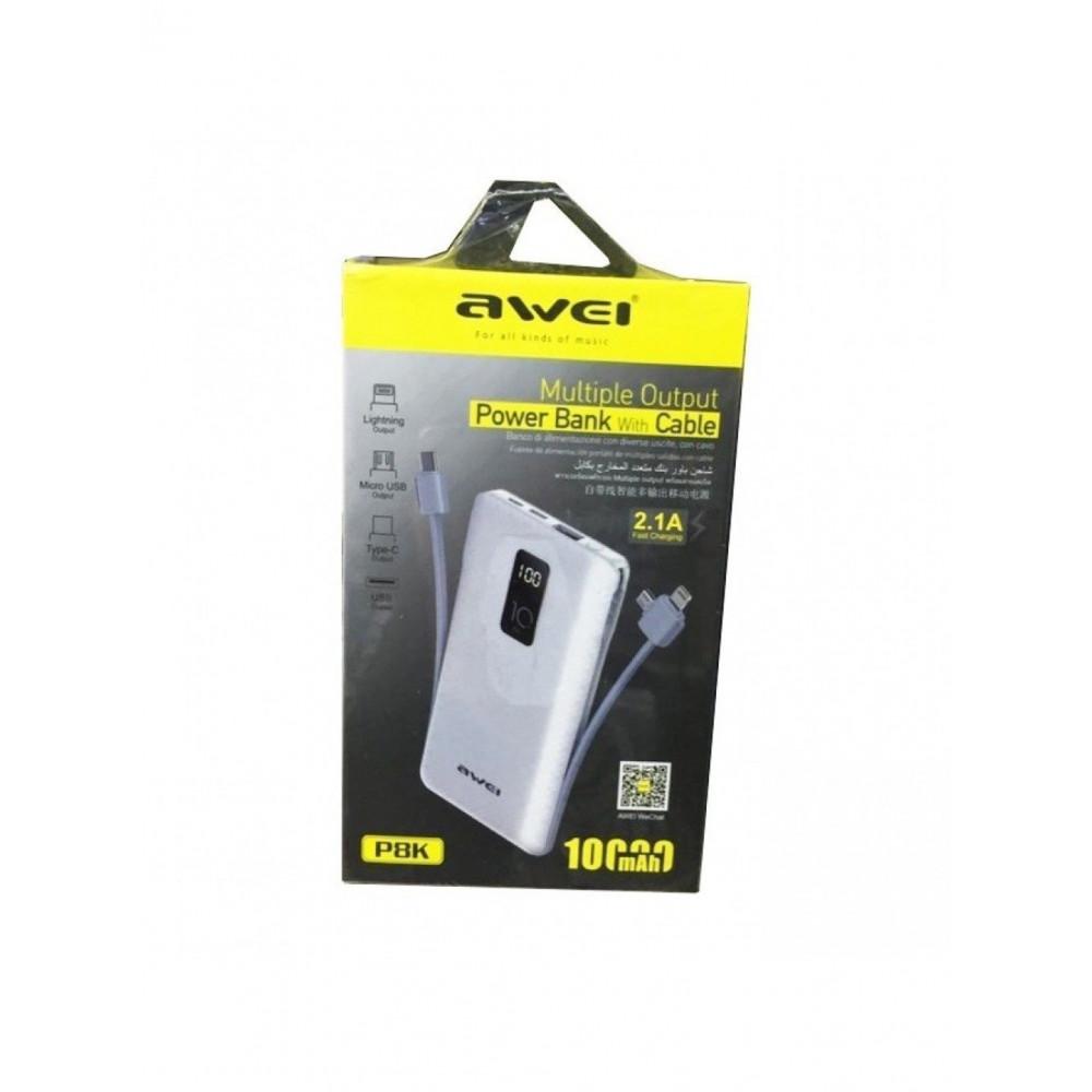 Внешний аккумулятор AWEI P8K