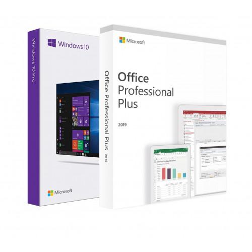 Электронные лицензии Windows 10 Pro + Office 2019 Professional Plus 32 Bit
