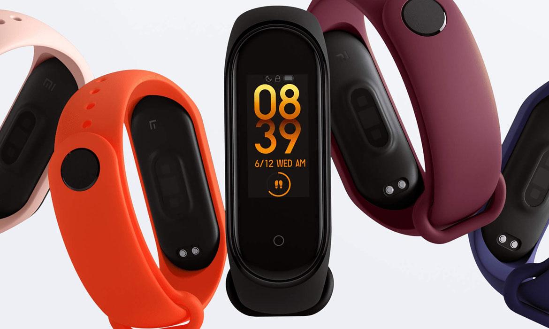 Фитнес браслет Xiaomi Mi Smart Band 4 уже в продаже!